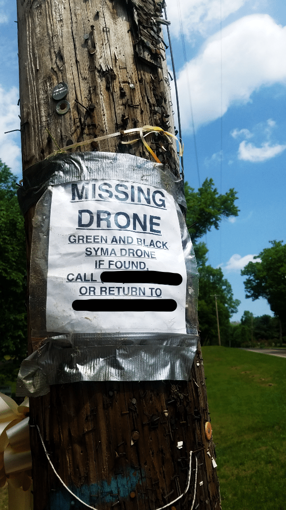 MissingDrone